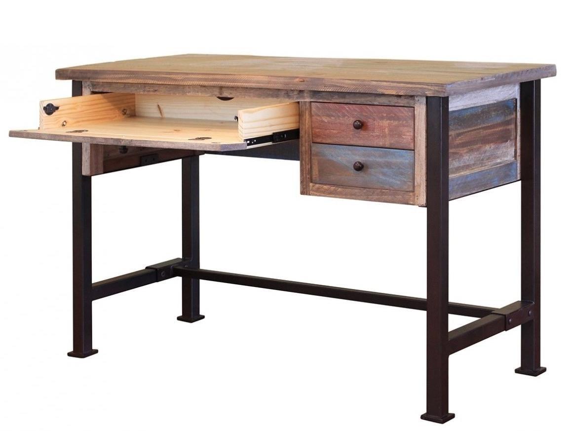 International Furniture Direct 900 AntiqueDesk ...