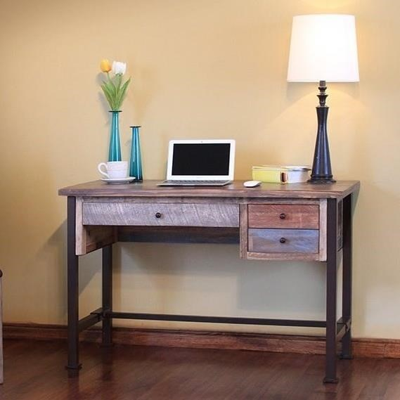 International Furniture Direct 900 AntiqueDesk