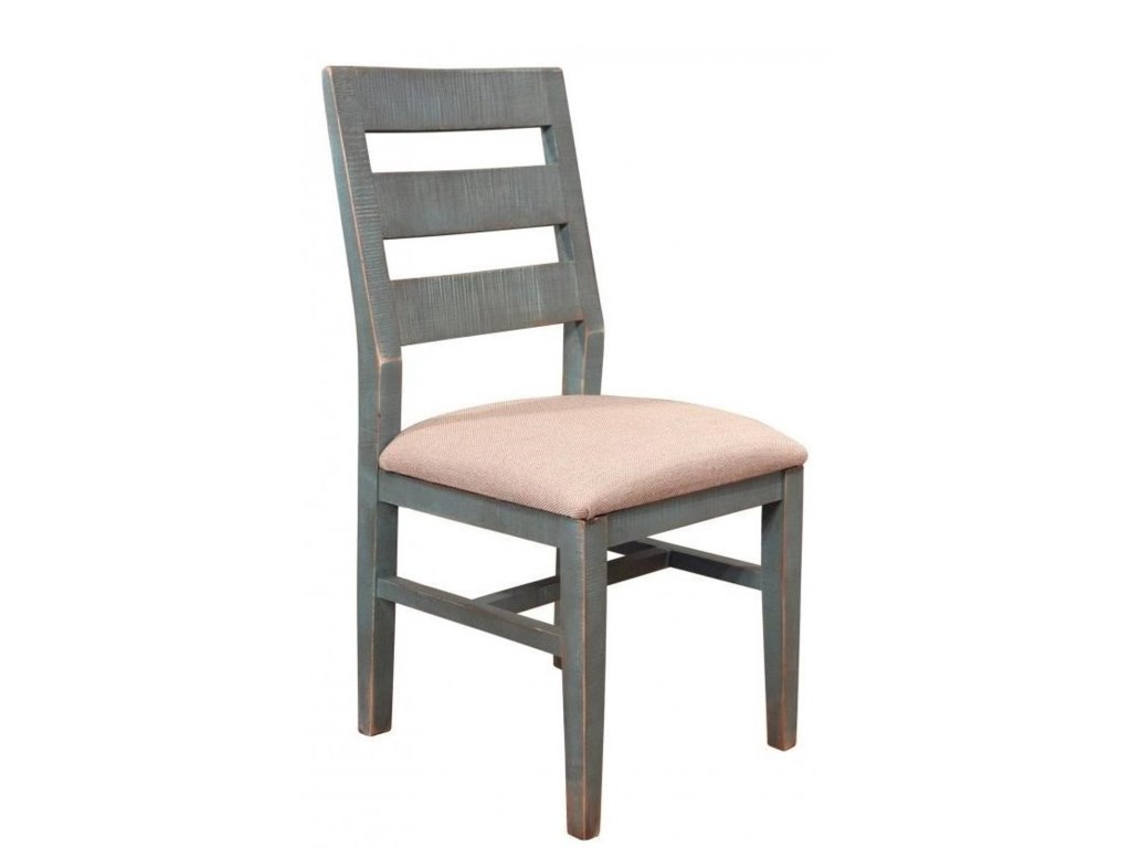 International Furniture Direct 900 AntiqueDining Side Chair