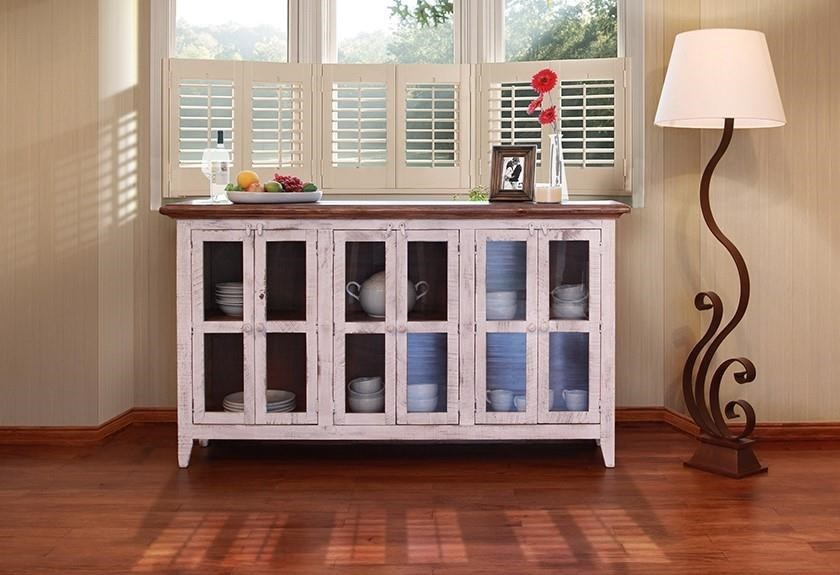 International Furniture Direct 926 Antique White71 ...