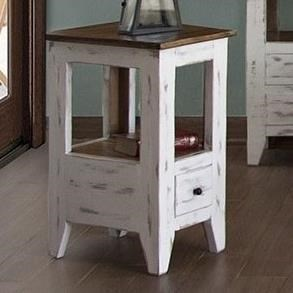 International Furniture Direct 960Chair Side Table