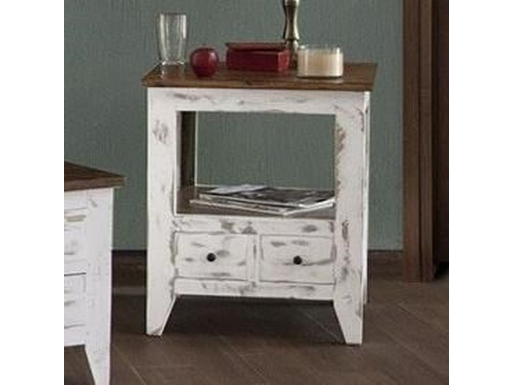 International Furniture Direct 960End Table