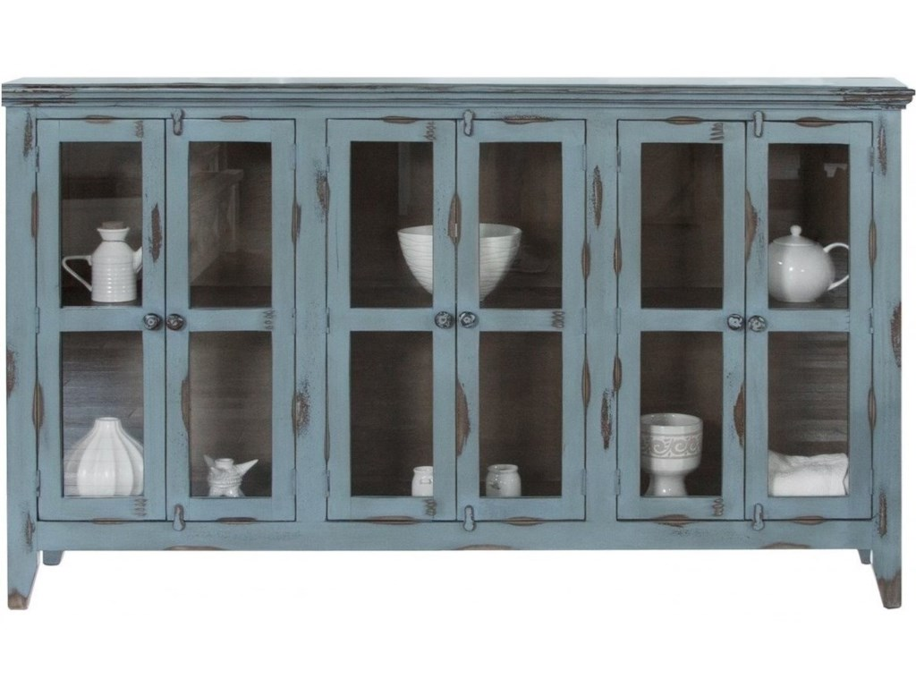 International Furniture Direct AntiqueConsole