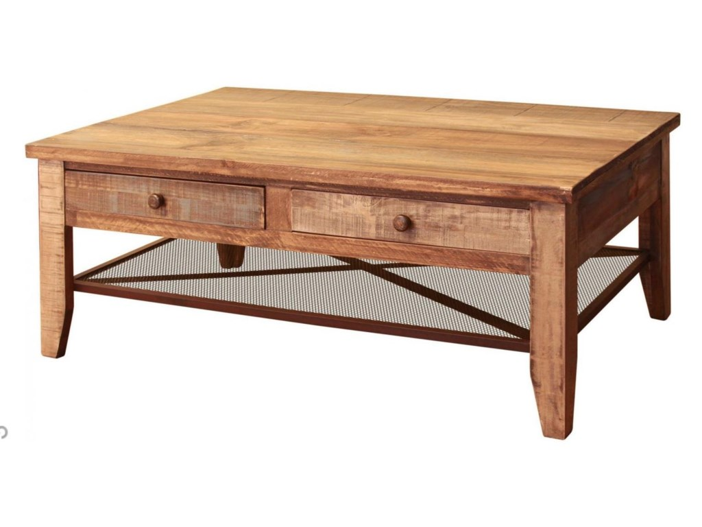International Furniture Direct 968Cocktail Table