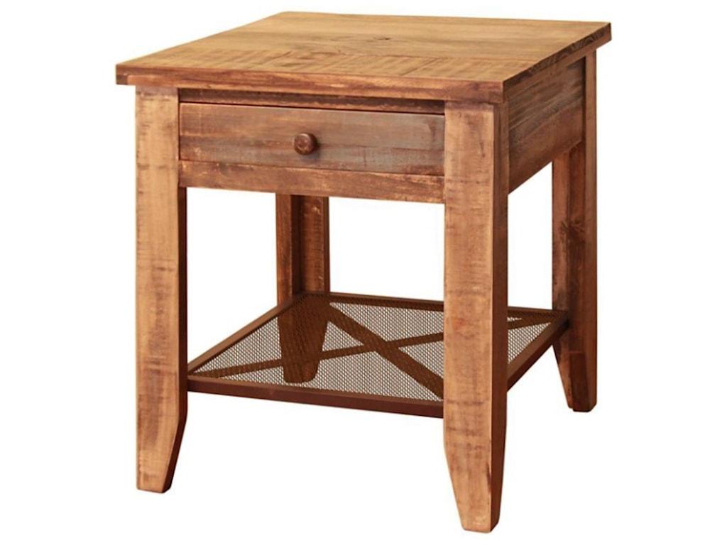 International Furniture Direct 968End Table
