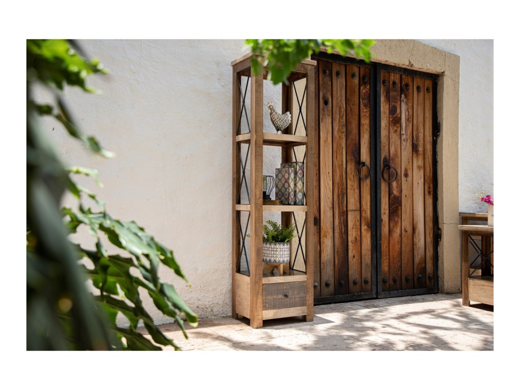 International Furniture Direct AndaluzBookcase