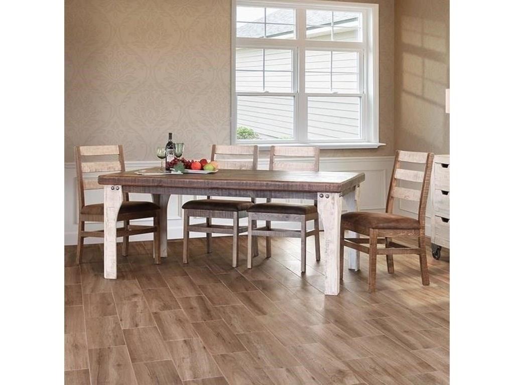 International Furniture Direct 9657 PC Dining Room Set
