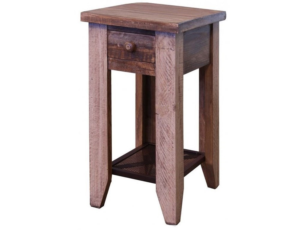International Furniture Direct Antique 963Chairside Table