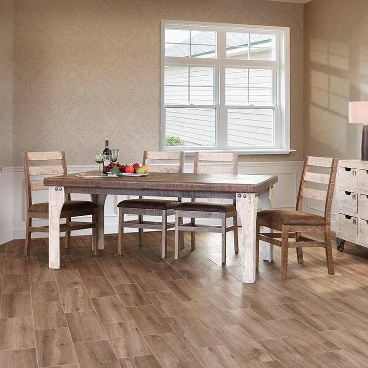 International Furniture Direct 965Ladderback Chair