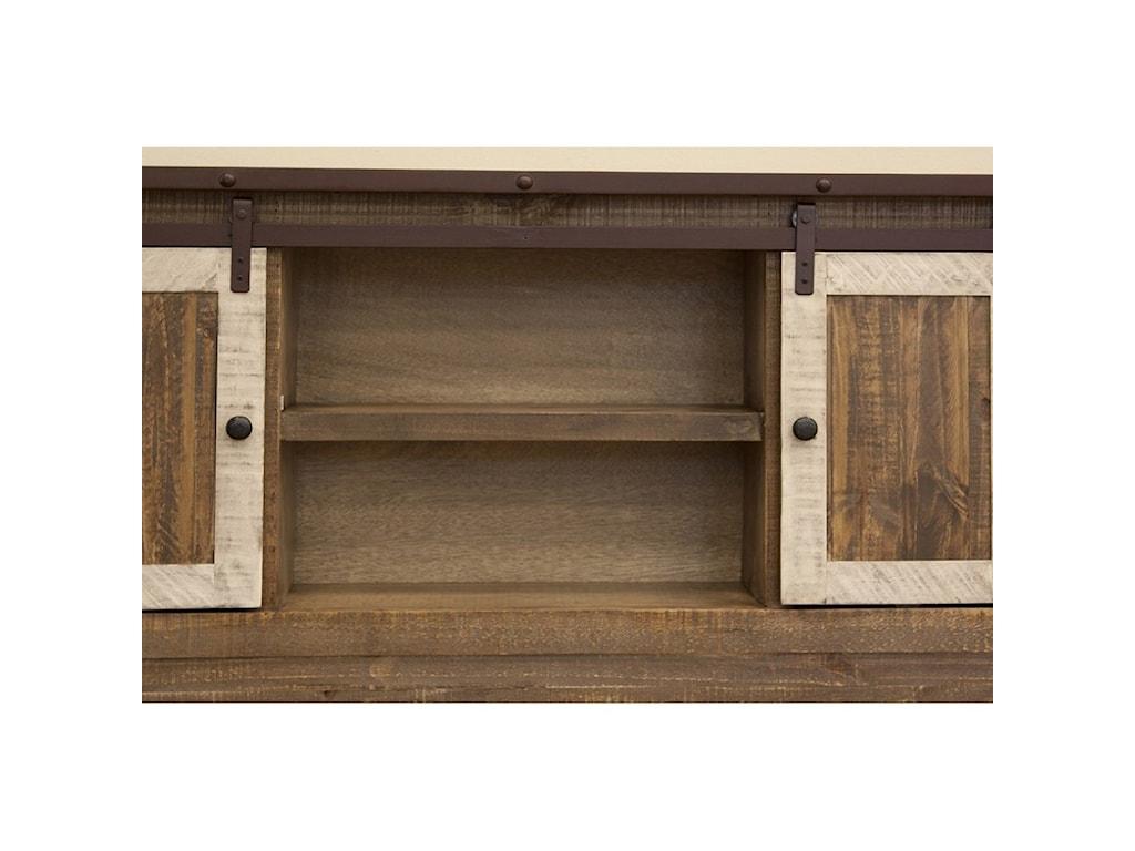 International Furniture Direct AntiqueKing Storage Bed