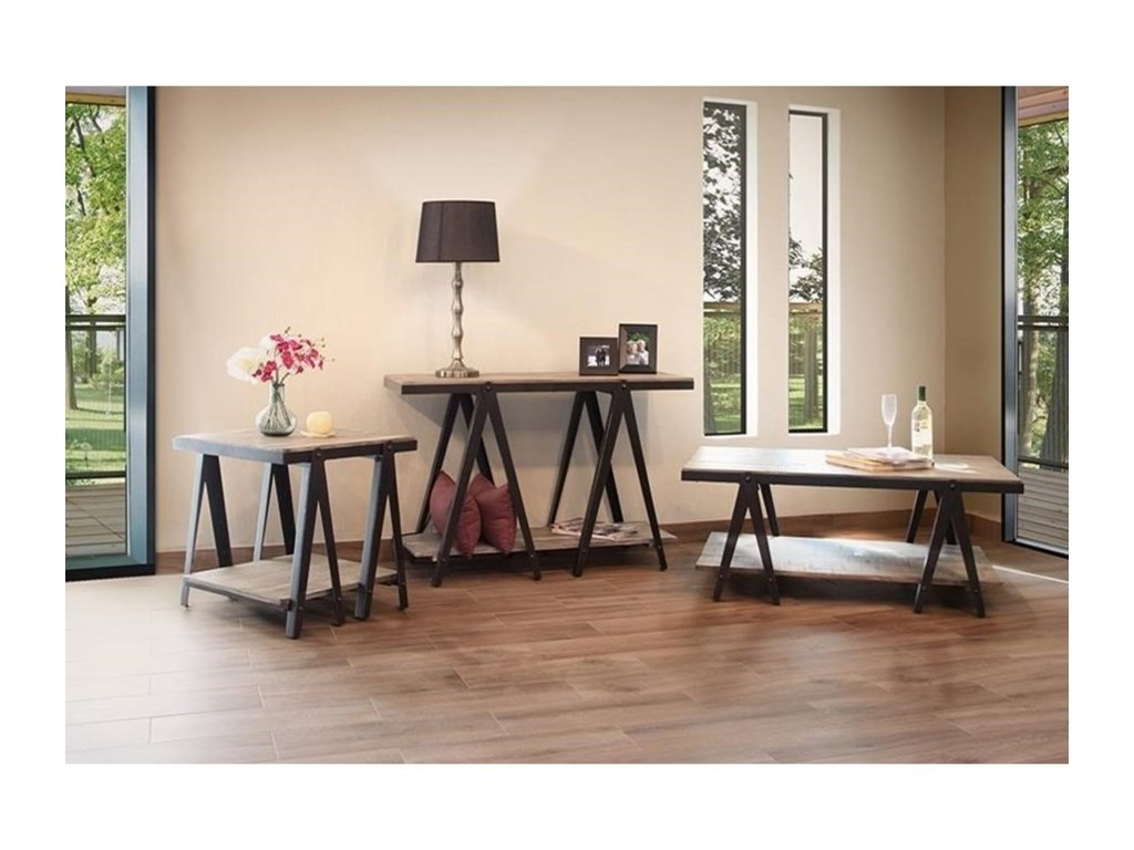International Furniture Direct ArtifactCocktail Table