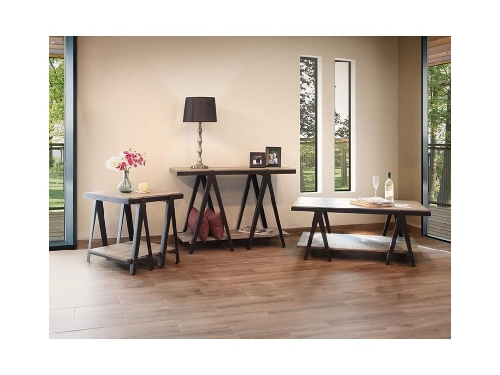 International Furniture Direct ArtifactEnd Table