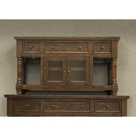 """60"""" TV Stand with 3 Drawers and 2 Doors"""
