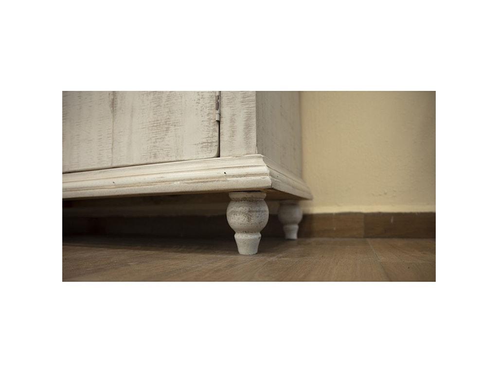 International Furniture Direct Capri4-Door Console