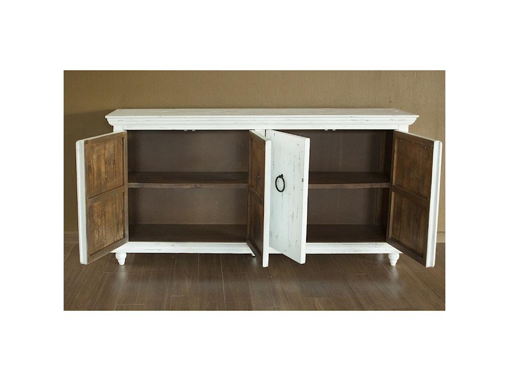 International Furniture Direct Capri4 Door Console
