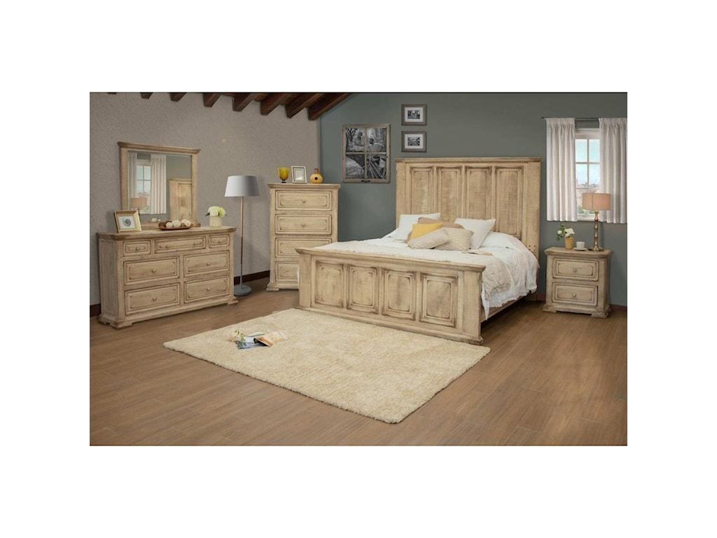 International Furniture Direct CarlottaQueen Bedroom Group