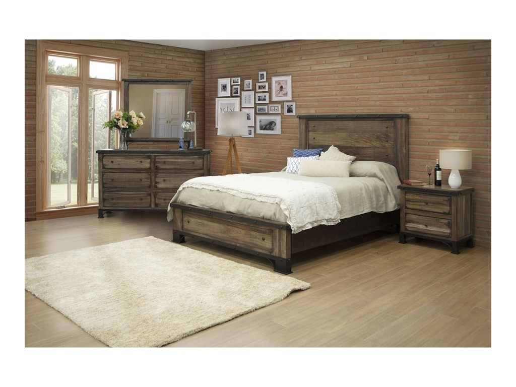 International Furniture Direct DurangoQueen Bedroom Group
