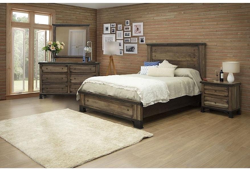 International Furniture Direct Durango Queen Bedroom Group ...
