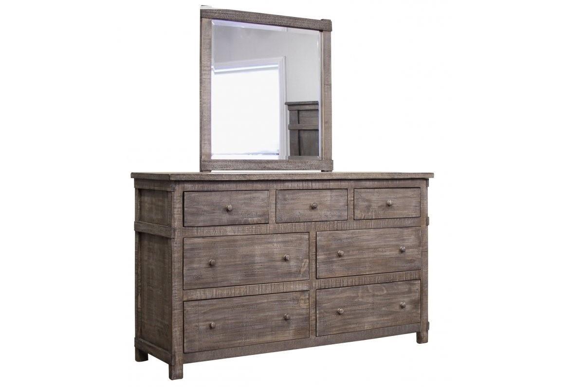 International Furniture Direct San Angelo Dresser U0026 Mirror   Great American  Home Store   Dresser U0026 Mirror Sets