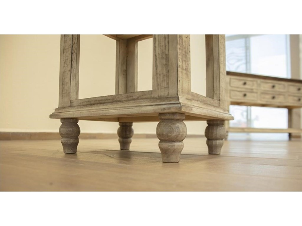 International Furniture Direct Laguna1 Drawer Chair Side Table
