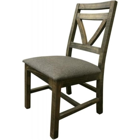 Chair with Fabric Seat