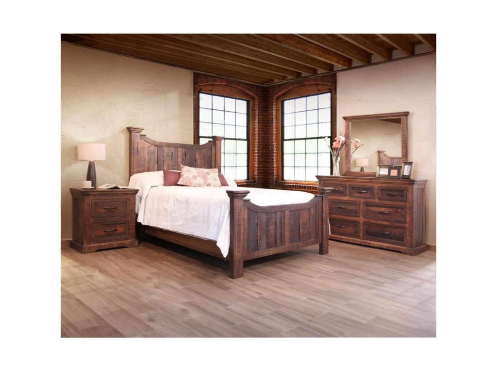 International Furniture Direct MadeiraCalifornia King Bedroom Group