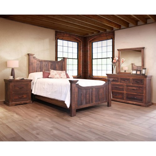 International Furniture Direct Madeira California King Bedroom Group