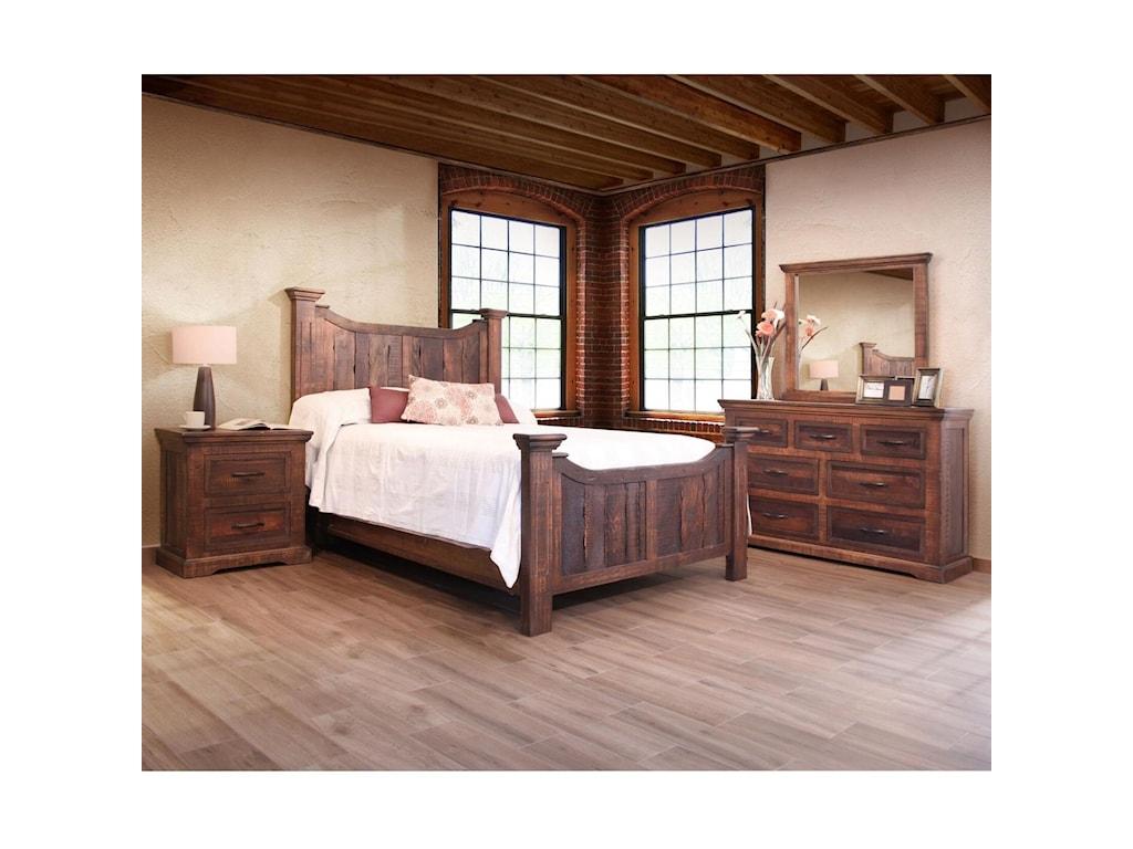International Furniture Direct MadeiraKing Bedroom Group