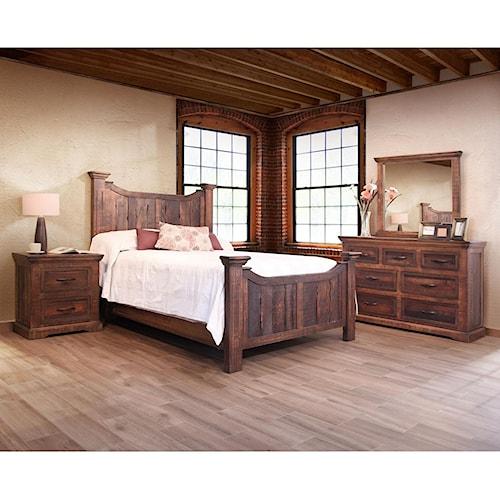 International Furniture Direct Madeira Queen Bedroom Group