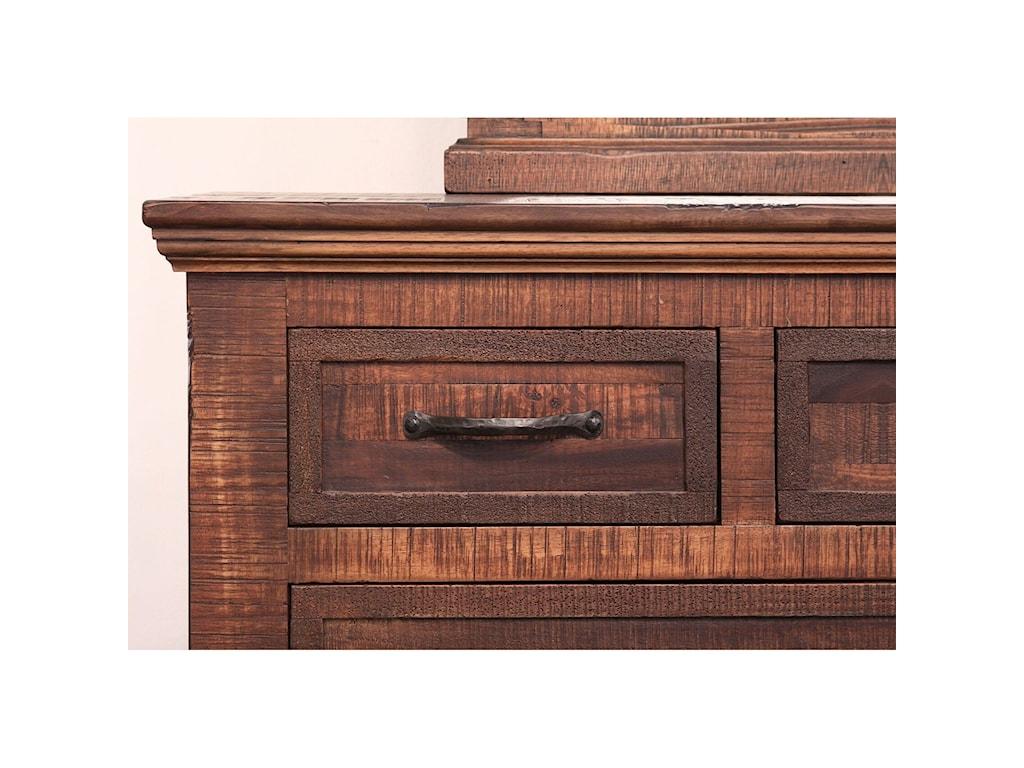 International Furniture Direct Madeira7 Drawer Dresser
