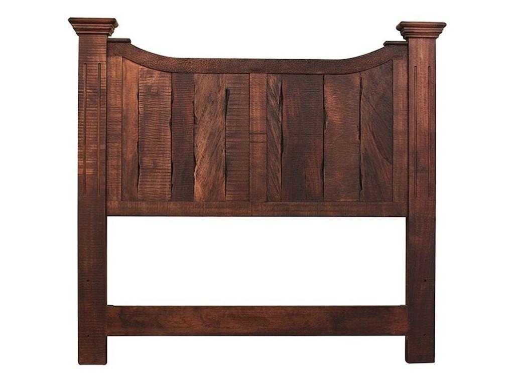International Furniture Direct MadeiraKing Panel Bed