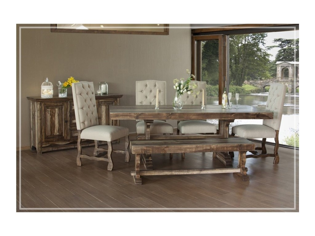 International Furniture Direct Marquez Casual Dining Room Group ...