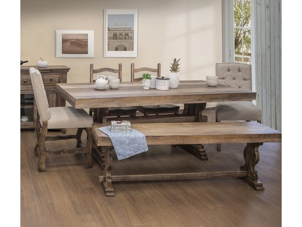 Marquez Counter Height Dining Set with Bench