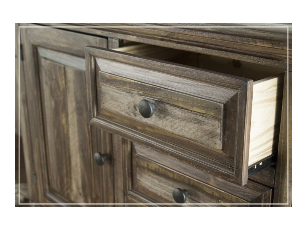 International Furniture Direct MarquezDining Console