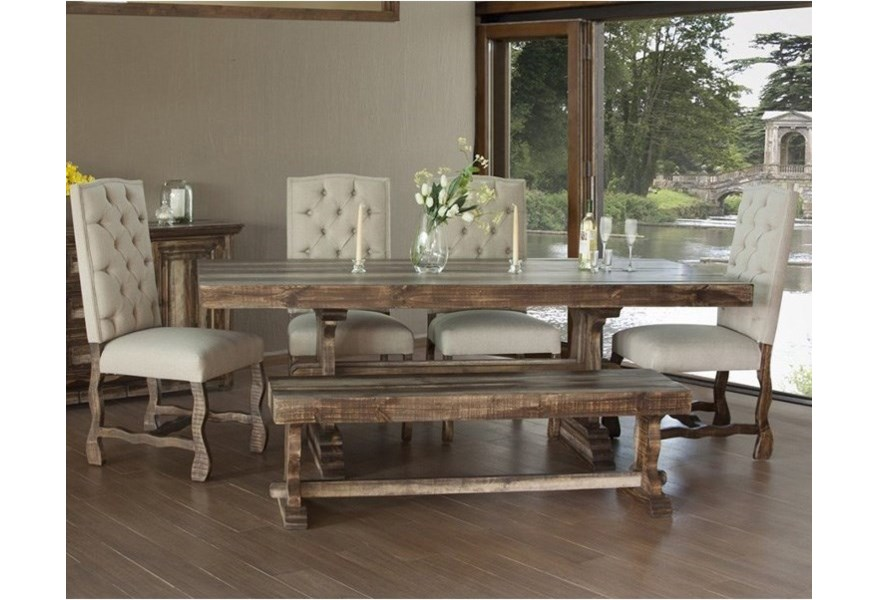 Marquez Dining Set with Bench