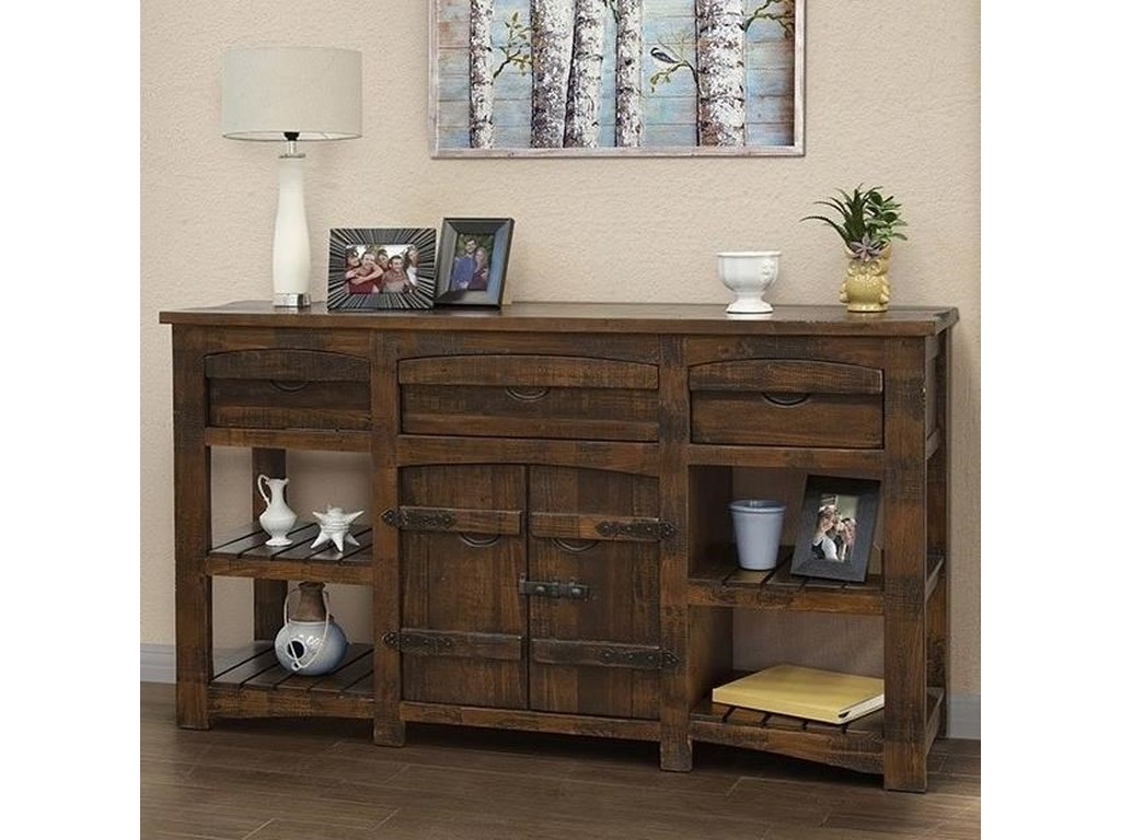 International Furniture Direct MezcalConsole