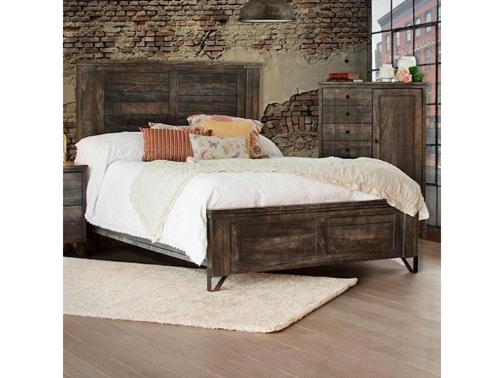 VFM Signature MoroQueen Low Profile Bed