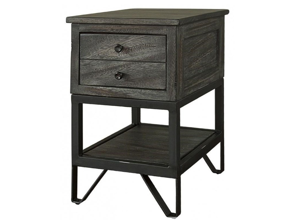International Furniture Direct Moro Contemporary Solid Wood ...