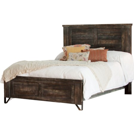 Queen Low Profile Bed