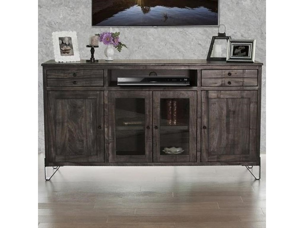 Moro Contemporary Solid Wood 70 Tv Stand By International Furniture Direct