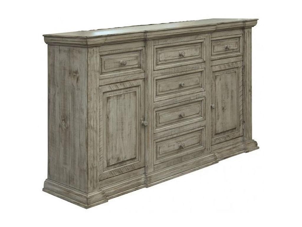 International Furniture Direct Palace6-Drawer Dresser