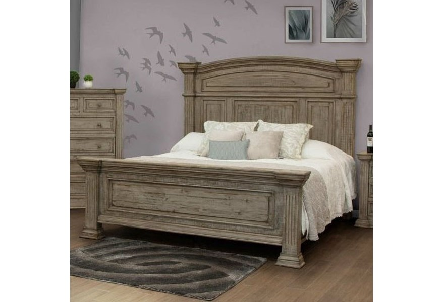 International Furniture Direct Palace Transitional Queen ...