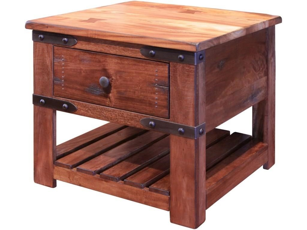 International Furniture Direct ParotaCocktail Table, End Table and Sofa Table Set