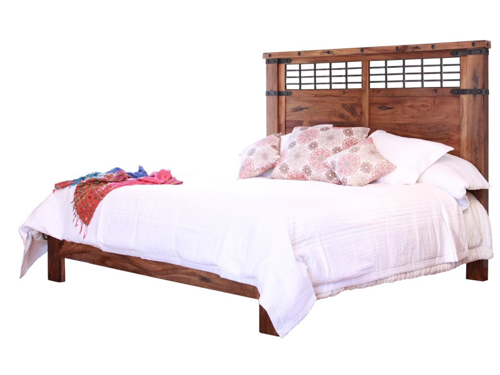 International Furniture Direct ParotaQueen Platform Bed