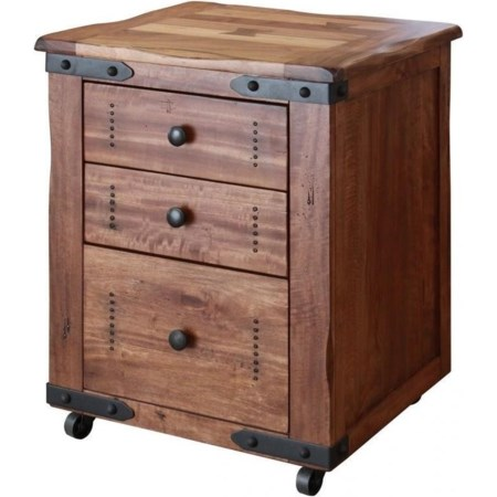 File with 3 Drawers