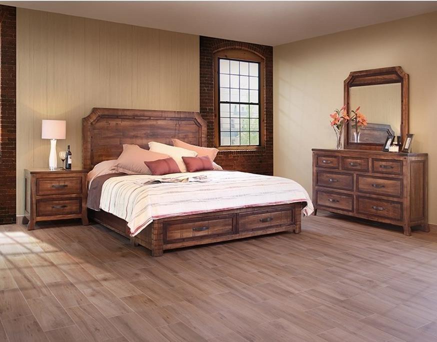 International Furniture Direct RegalKing Bedroom Group