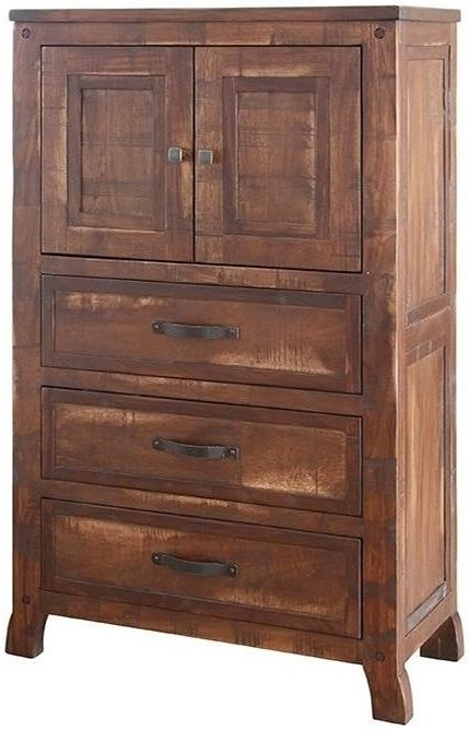 The rustic cabin regal rustic chest with doors and drawers for Furniture 500 companies