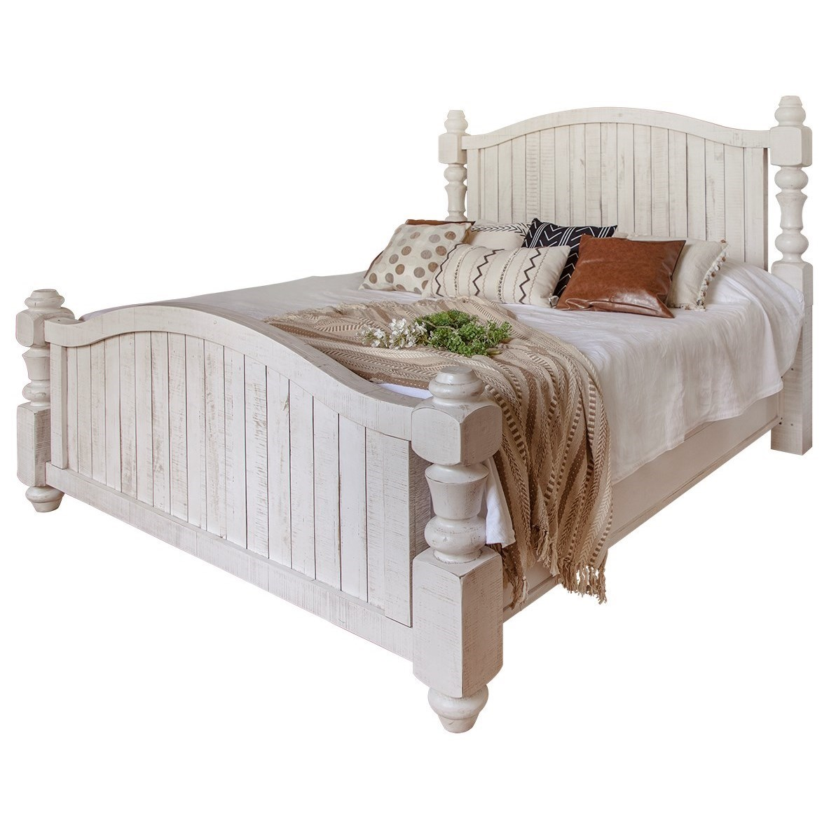 Relaxed Vintage King Bed