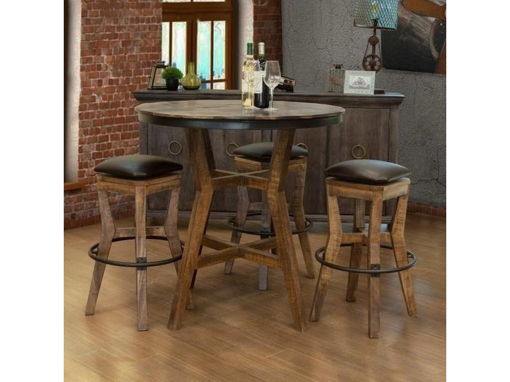 International Furniture Direct SalamancaPub Table Dining Set
