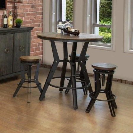 Pub Table Dining Set